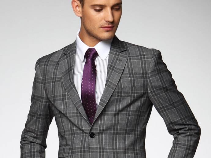 才能得到完美契合穿着者的西服